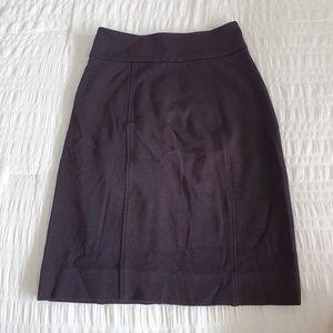 BCBG Black Pencil Skirt